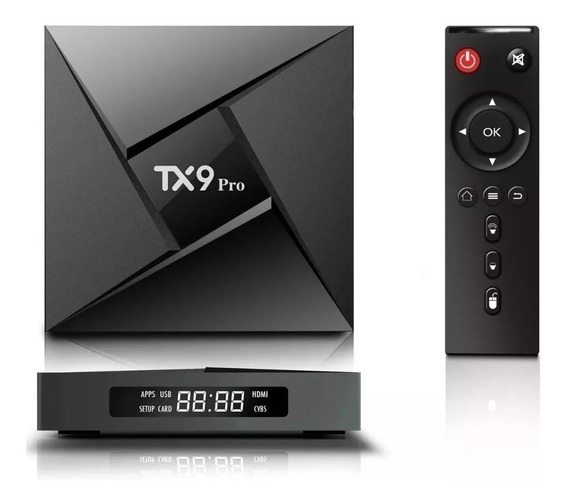 Tv Box Tanix Tx9 Pro Original 4/32gb Bluetooth 5ghz + Brinde