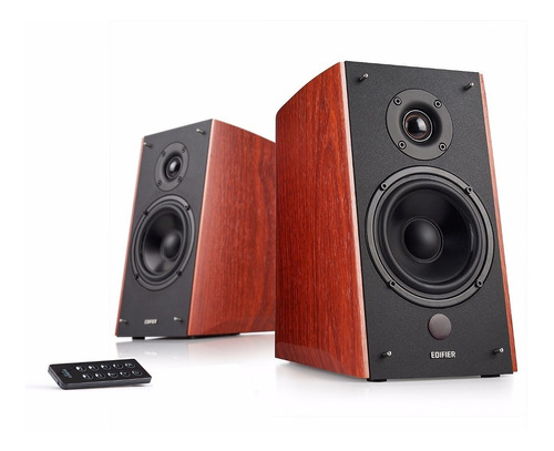Edifier R2000 Db Parlantes 120w Rms Optica Bluetooth Wood