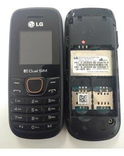 Lote 10 Unid -lg A275-seminovo Dual Chip Antena Rural Rádio Fm Original