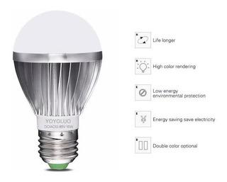Led 24v 12w E27 24 V Energía Solar Batería 12v Bombillas