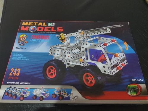Imagen 1 de 4 de Juego Para Armar Metal Modelos No.3114. Nuevo! 243 Piezas.