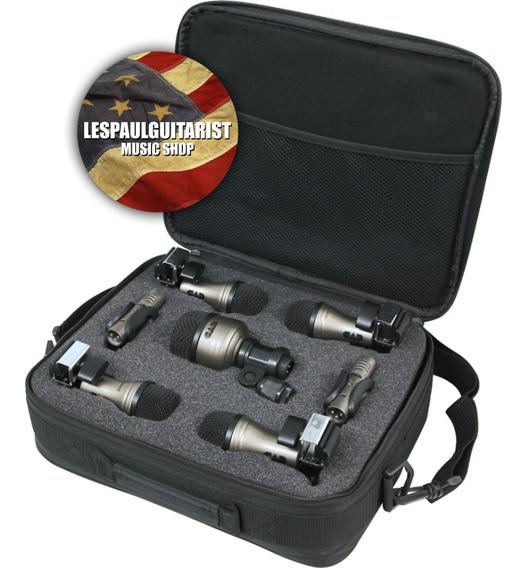 Kit 7 Microfones Bateria Cad Pro 7 Novo Importado Usa