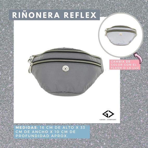 Riñonera Reflex Doble Cierre Mujer Good Company R206