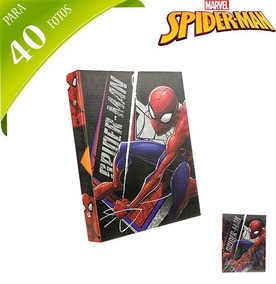 Album De Fotos Infantil Homem Aranha/spider Man Para 40 Foto