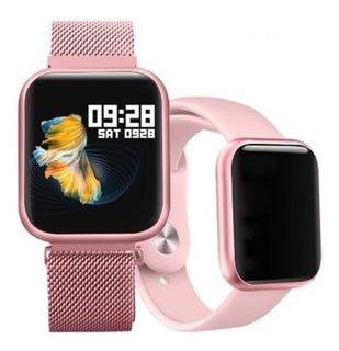 Smartwatch P80 + Pulseira De Brinde
