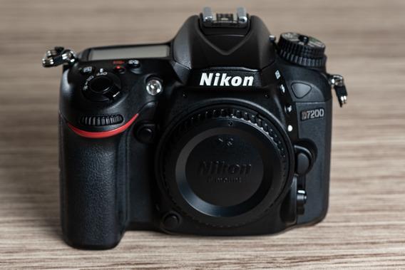 Câmera Nikon D7200 Corpo, 24.2mp, Full Hd, Wi-fi