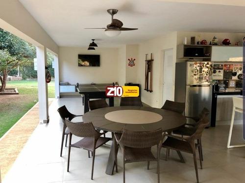 Imagem 1 de 30 de Ch01779 - Belíssima Chácara, Alto Padrão - Residencial Vale Das Laranjeiras - Z10 Imóveis Indaiatuba - At 2.750m² Ac  450m² - Ch01779 - 67758477