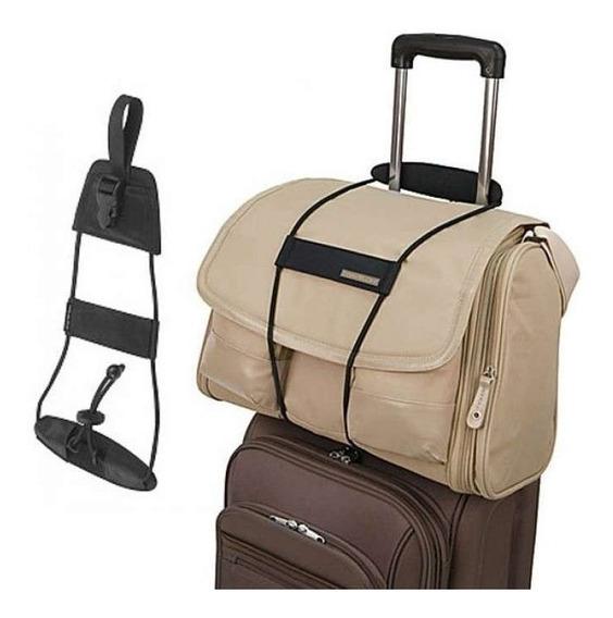 Cinta Ajustável Bagagem Alça Elástica Mala Viagem Bag Bungee