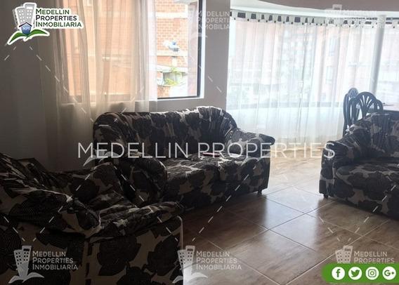 Arrendamientos De Apartamentos Baratos En Medellín Cód: 4845