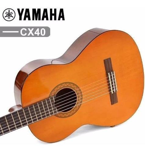 Guitarra Electroacustica Yamaha Cx40 *   Mercado Libre