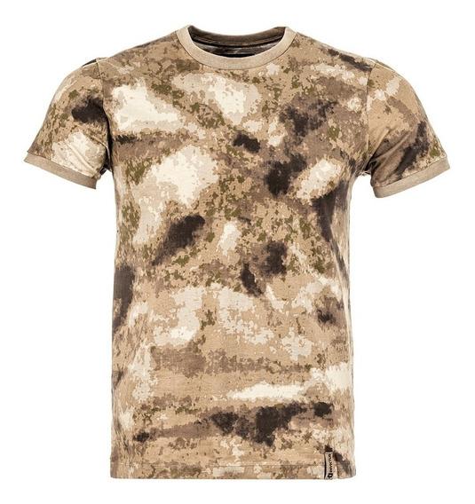 Camiseta Tática Tech Invictus Camuflado Atacs A-tacs Au