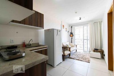 Apartamento No 14º Andar Mobiliado Com 1 Dormitório E 1 Garagem - Id: 892935678 - 235678