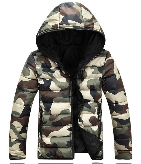 Jaqueta Masculina Blusa Camuflada Japona Estampa Militar