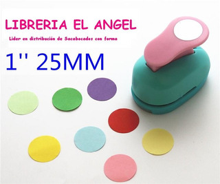 Sacabocados Perforadoras Circulos 25mm Candy Bar Circular