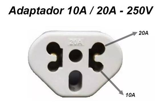 Kit 05un Adaptador Benjamin Bob Love 10/20a Pino Maciço