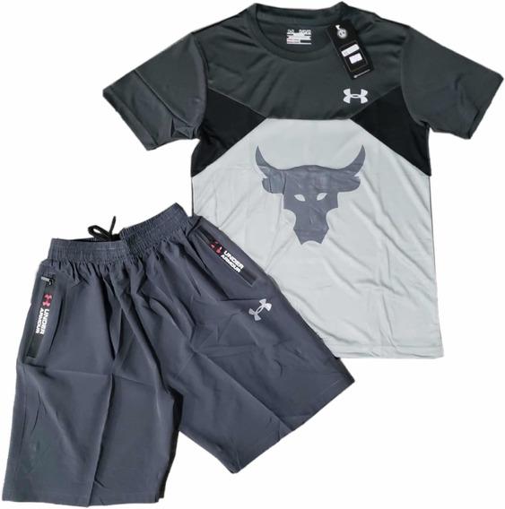 Conjunto Deportivo Drifyt Para Hombre Pantaloneta Camiseta