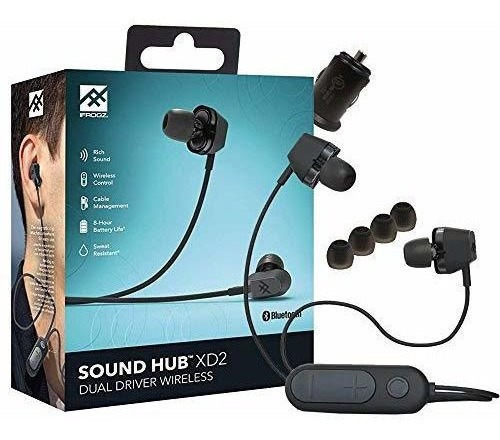 Imagen 1 de 7 de Ifrogz Sound Hub Xd2 - Auriculares Inalámbricos Bluetooth (r
