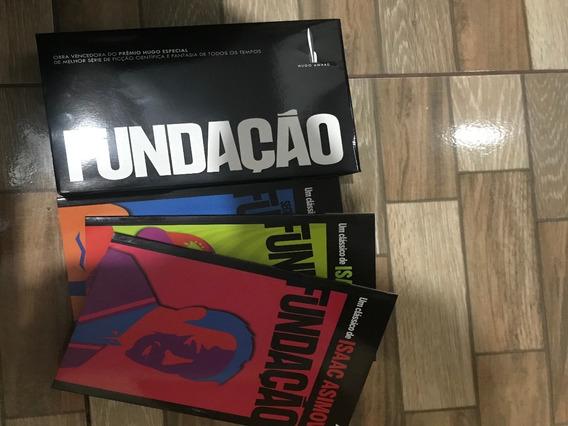 Livro Box Trilogia Fundação (3 Volumes) Isaac Asimov