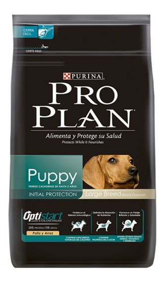 Alimento Pro Plan Puppy perro cachorro raza grande pollo/arroz 13kg