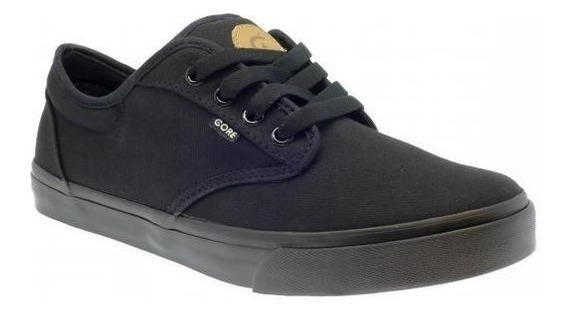 Tenis Core Canvas Black Black 164095