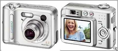 Câmera Casio Qv-r62 - Semi-nova
