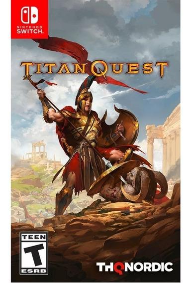Titan Quest Switch Mídia Física Novo Lacrado Original