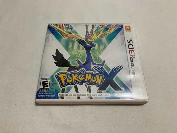 Pokémon X Nintendo 3ds 2ds Jogo Original Mídia Física Game