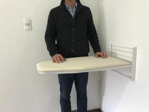 Tabla De Planchar De Pared Höllsen Con Funda 100% Algodón