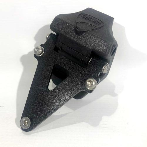 Portapatente Fender Rebatible Stg Ducati Panigale V4