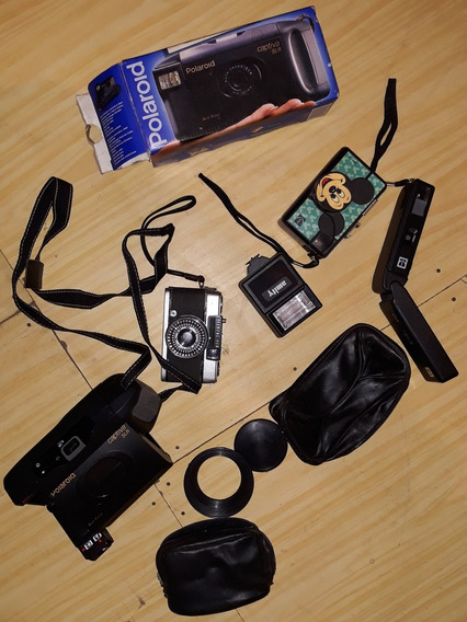 Câmeras Fotográficas Lote Polaróide, Kodak