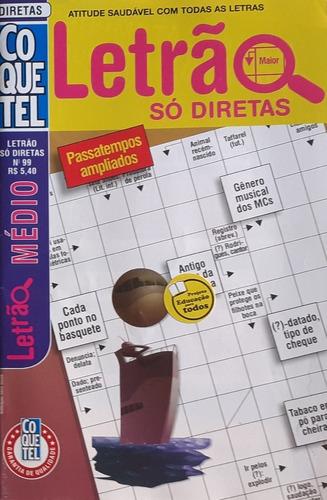 Kit 06 Palavras Cruzadas Letrão Coquetel