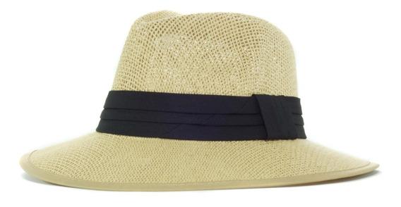 Sombrero Tipo Panama Unisex Duro Sa 227-07
