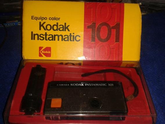 Câmera Vintage: Kodak 101 # Muito Nova # Na Caixa Original