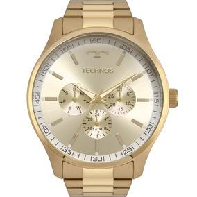Relógio Technos Masculino Cronógrafo Dourado 6p29ajn/4x