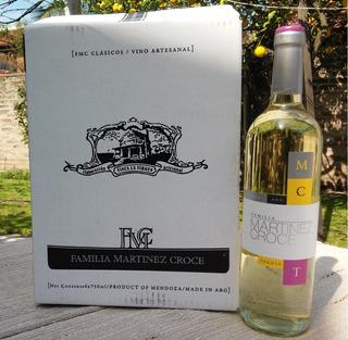 Vino Blanco - Cosecha Tardía - Familia Martinez Croce