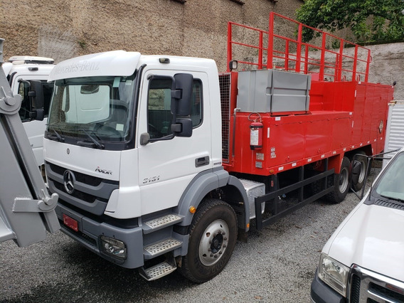 Mercedes-benz Axor 3131 6x4 Ano 2014 Comboio Gascom