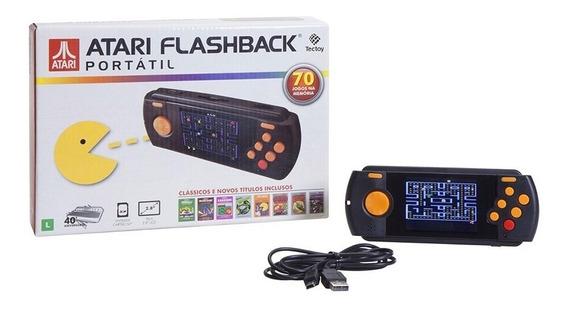 Console Atari Flashback Portátil Com 70 Jogos Tectoy Novo