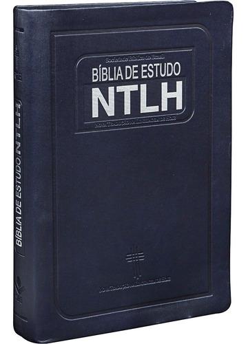 Imagem 1 de 7 de Bíblia De Estudo Ntlh - Novo Tamanho Promoção