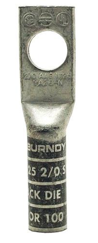 Terminal A Compresión 2/0 Burndy Ya26n Un Ojo 1/2''