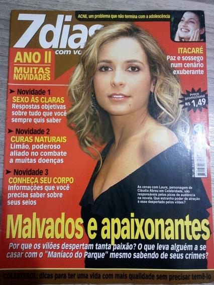 Revista 7 Dias 52 - Claudia Abreu