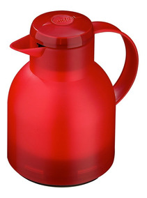 Emsa Garrafa Térmica De 1 Litro Vermelha Quick Press Samba E