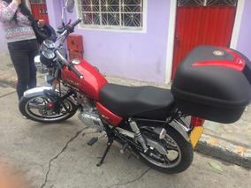 Suzuki Gn 125 2018 Roja