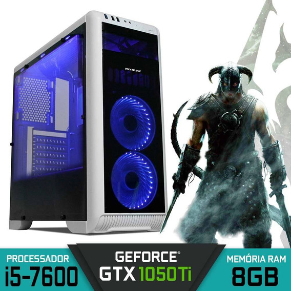Pc Gamer Intel Core I5-7600 Gtx 1050ti Ram 8gb Hd 1tb