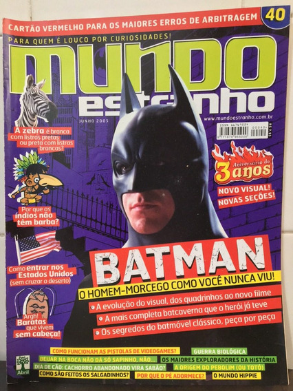 Revista Mundo Estranho Edição 40 - Jun/ 2015