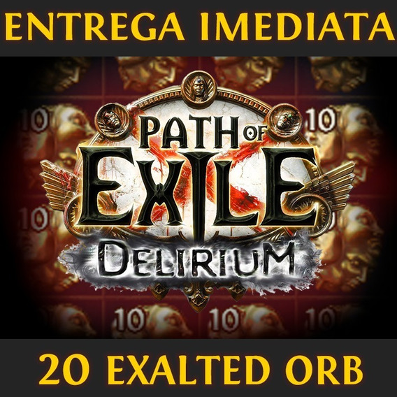 20x Exalted Orb | Path Of Exile | Softcore | Delirium