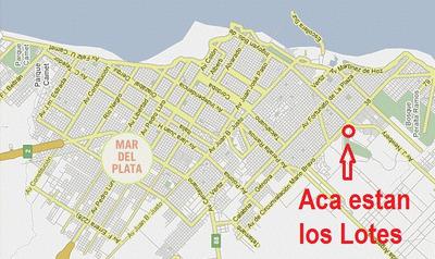 Lotes Mar Del Plata Brio.nuevo Golf 2 Ultimos 9200u$s C/u
