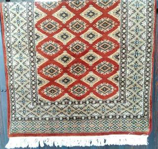 Tapete Paquistaní Elaborado A Mano, 91*160cm O .91 X 1.60m