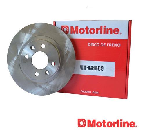 Disco De Freno Delantero Para Renault 19,clio,kangoo,symbol
