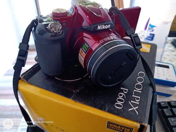 Câmera Profissional Nikon Coolpix P600 16,1 Megapixels