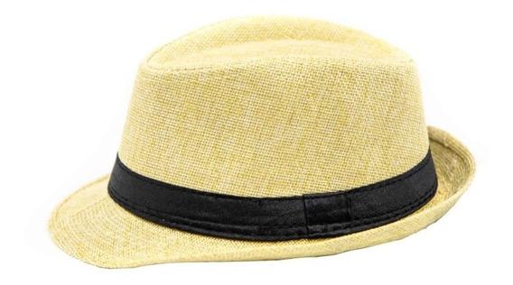 Sombrero Tipo Fedora Para Bebe Niño 6-12 Meses 03480